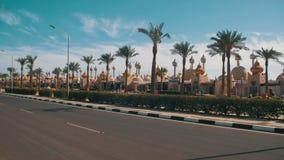 Αραβική αιγυπτιακή νύχτα αγοράς 1001 απόθεμα βίντεο