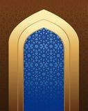 αραβική αρχιτεκτονική Ισλαμικό υπόβαθρο σχεδίου Στοκ φωτογραφίες με δικαίωμα ελεύθερης χρήσης