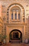 αραβική αρχιτεκτονική Μα& Στοκ Φωτογραφία