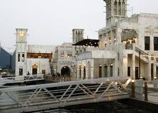 αραβική αρχιτεκτονική Ντουμπάι στοκ φωτογραφίες