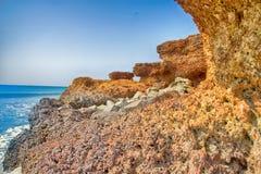 Αραβική θάλασσα στο Κεράλα Στοκ Φωτογραφία