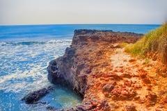 Αραβική θάλασσα στο Κεράλα Στοκ εικόνες με δικαίωμα ελεύθερης χρήσης
