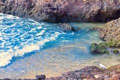 Αραβική θάλασσα στο Κεράλα Στοκ Φωτογραφίες