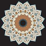 Αραβική διακόσμηση τέσσερα Adil Στοκ φωτογραφία με δικαίωμα ελεύθερης χρήσης