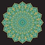Αραβική διακόσμηση τρία Adil Στοκ Εικόνες