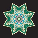 Αραβική διακόσμηση δύο Bonab Στοκ φωτογραφίες με δικαίωμα ελεύθερης χρήσης