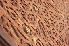 Αραβική ξύλινη σύσταση Στοκ φωτογραφία με δικαίωμα ελεύθερης χρήσης