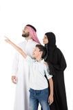αραβική οικογένεια Στοκ εικόνα με δικαίωμα ελεύθερης χρήσης