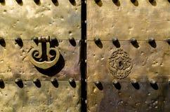αραβική πόρτα Στοκ Φωτογραφίες