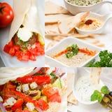 Αραβική συλλογή τροφίμων της Μέσης Ανατολής στοκ φωτογραφία με δικαίωμα ελεύθερης χρήσης