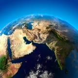 αραβική όμορφη γήινη χερσόνη ελεύθερη απεικόνιση δικαιώματος