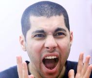 0 αραβικός νέος αιγυπτιακός επιχειρηματίας Στοκ Εικόνα
