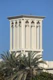 αραβικός παραδοσιακός αέρας πύργων Στοκ εικόνα με δικαίωμα ελεύθερης χρήσης