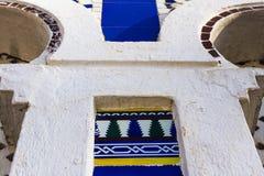 Αραβικός τουρισμός Arabesque αψίδων παραθύρων στοκ εικόνες