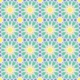 Αραβικό άνευ ραφής σχέδιο διακοσμήσεων Στοκ Φωτογραφία