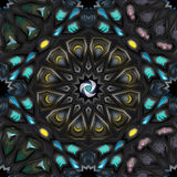 Αραβικό γεωμετρικό pattern2 Στοκ Εικόνα