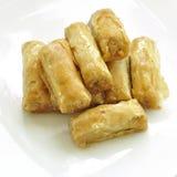 αραβικό γλυκό baklava Στοκ φωτογραφία με δικαίωμα ελεύθερης χρήσης