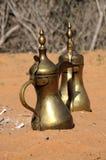 αραβικό δοχείο καφέ Στοκ Εικόνες