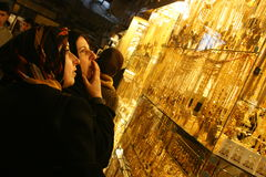 αραβικό κατάστημα κοσμήμα&t Στοκ εικόνα με δικαίωμα ελεύθερης χρήσης