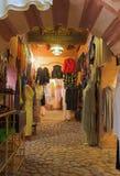 αραβικό κατάστημα μόδας Στοκ Φωτογραφίες