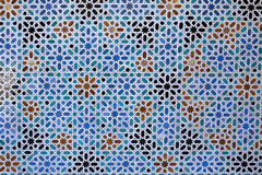 αραβικό κεραμίδι λεπτομέ&rh Στοκ Εικόνα