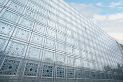 Αραβικό κτήριο παγκόσμιου ιδρύματος στο Παρίσι Στοκ εικόνες με δικαίωμα ελεύθερης χρήσης