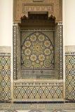 αραβικό μωσαϊκό διακοσμήσ Στοκ Φωτογραφία