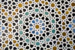 αραβικό μωσαϊκό Στοκ Φωτογραφία