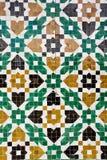 αραβικό μωσαϊκό Στοκ εικόνα με δικαίωμα ελεύθερης χρήσης