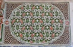 αραβικό μωσαϊκό Στοκ Εικόνες