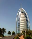 αραβικό ξενοδοχείο burj Al στοκ φωτογραφία με δικαίωμα ελεύθερης χρήσης