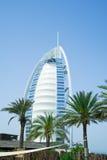 αραβικό ξενοδοχείο burj Al Στοκ Φωτογραφίες