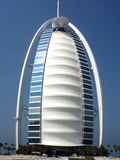 Αραβικό ξενοδοχείο Al Burj στο Ντουμπάι στοκ φωτογραφίες