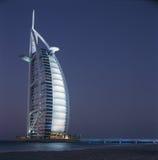 Αραβικό ξενοδοχείο Al Burj Στοκ Εικόνες