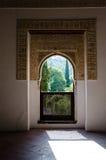 αραβικό παράθυρο Στοκ φωτογραφίες με δικαίωμα ελεύθερης χρήσης