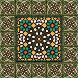 Αραβικό παραδοσιακό εγχώριο ντεκόρ μωσαϊκών Στοκ εικόνες με δικαίωμα ελεύθερης χρήσης