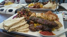 Αραβικό πιάτο στοκ φωτογραφία με δικαίωμα ελεύθερης χρήσης