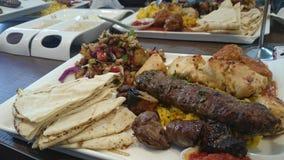 Αραβικό πιάτο στοκ φωτογραφίες με δικαίωμα ελεύθερης χρήσης