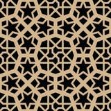 αραβικό πρότυπο άνευ ραφής Στοκ Εικόνα