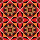 αραβικό πρότυπο άνευ ραφής Στοκ Φωτογραφίες
