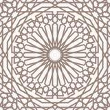 αραβικό πρότυπο Στοκ εικόνες με δικαίωμα ελεύθερης χρήσης