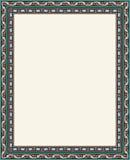 Αραβικό πλαίσιο επτά Abadan Στοκ εικόνα με δικαίωμα ελεύθερης χρήσης