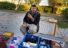 Αραβικό συριακό άτομο στο Ιράκ Στοκ Φωτογραφία