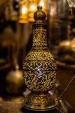 Αραβικό φανάρι χαλκού Στοκ Εικόνα