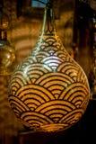 Αραβικό φανάρι χαλκού Στοκ φωτογραφίες με δικαίωμα ελεύθερης χρήσης