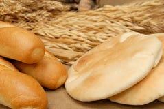 αραβικό ψωμί baguette Στοκ Φωτογραφίες