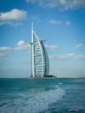 αραβικό burj Ντουμπάι Al Στοκ φωτογραφία με δικαίωμα ελεύθερης χρήσης
