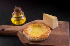 Αραβικό sfiha τυριών Στοκ Φωτογραφίες
