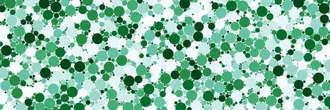 Αραιό σημείο κομφετί watercolor ζωηρόχρωμο στο άσπρο υπόβαθρο χαοτικός κύκλος σχεδίων Λόγος διάστασης 3:1 ελεύθερη απεικόνιση δικαιώματος