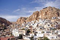 αραμαϊκό χωριό της Συρίας maalula Στοκ εικόνα με δικαίωμα ελεύθερης χρήσης